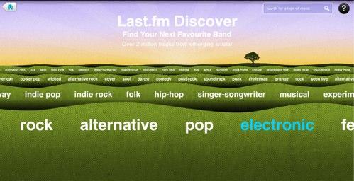 Discover  Last fm