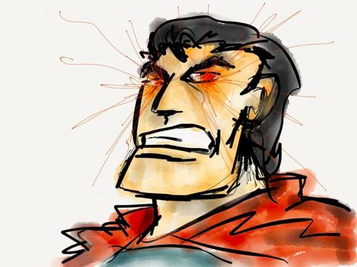 Angry Kryptonian